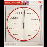 Morse Code Clock
