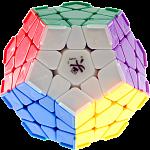 Megaminx I with corner ridges  - 12 solid color