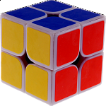 2x2x2 I  - White Body for Speed Cubing (46x46mm)