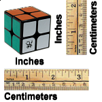 2x2x2 I - Black Body for Speed Cubing (46x46mm)
