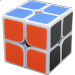 2x2x2 I - White Body for Speed Cubing (50x50mm)