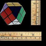 Rainbow Cube - 7 Color Black Body