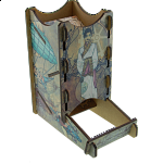 Knockdown Dice Tower - Steampunk