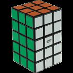 3x3x5 Cuboid with Aleh & Evgeniy logo - Black Body