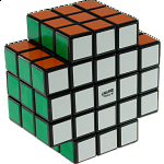 3x3x5 X-Shaped-Cube with Evgeniy logo - Black Body