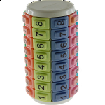 Eni Puzzle - Mini Numbers Pastel