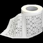 Sudoku Toilet Roll