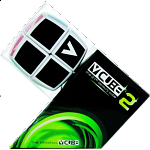 V-CUBE 2 Pillow (2x2x2): White