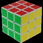 V-CUBE 3 Flat (3x3x3): White