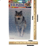 3D Snow Wolf