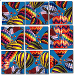 Scramble Squares - Hot Air Balloons