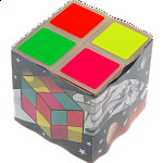 R Cube - 4 Color Scrambler