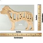 Pitbull Dog - Wooden Jigsaw
