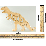 T-Rex - Wooden Jigsaw