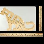 Cougar - Wooden Jigsaw