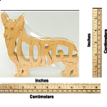Welsh Corgi Dog - Wooden Jigsaw