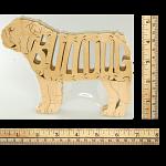 English Bulldog - Wooden Jigsaw