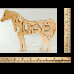 Horse - Wooden Jigsaw