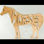 Horse - Wooden puzzle