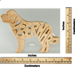 St. Bernard Dog - Wooden Jigsaw