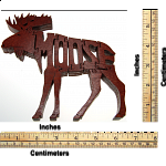 Moose - Wooden Jigsaw