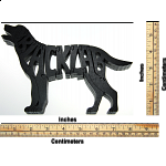 Black Labrador Retriever Dog - Wooden Jigsaw