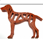 Vizsla Dog - Wooden Jigsaw