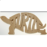 Turtle - Wooden Jigsaw