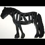 Friesian Horse - Wooden Jigsaw