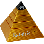 Ramisis: GII - Gold with Black Capstone