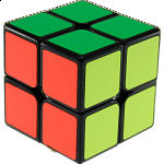 LingPo 2x2x2 - Black Body for Speed-cubing
