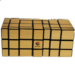 Siamese Mirror Cube - Large - Gold Labels