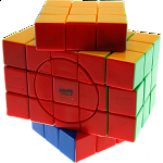 3x3x5 Super X-Shaped-Cube with Evgeniy logo - Stickerless