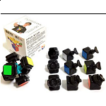 WeiLong 3x3x3 Cube Version II  DIY Kit - Black Body