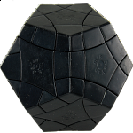 Bermuda Megaminx Mercury DIY - Black Body