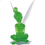 3D Crystal Puzzle - Tinker Bell