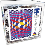 Deluxe Jigsaw - Vasarely - Globe with Spheres