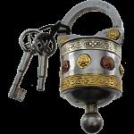 Round 2 Key Puzzle Lock
