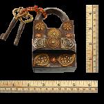 9 Step Extreme - 2 Key Puzzle Lock