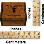 Wizard Math Magic Cards in Box