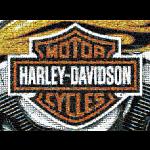 Photomosaic: Harley-Davidson