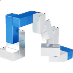 Metal Art: i-Cube - Blue