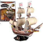 Mayflower - 3D Jigsaw Puzzle
