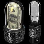 Puzzle Pod Cryptex - Brain Teaser Puzzle & Coin Bank