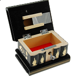Romanian Puzzle Box - Medium - Black