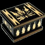 Romanian Puzzle Box - Small Black