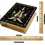 Romanian Secret Book Box - Black