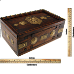Wooden Puzzle Gift Box - Teak