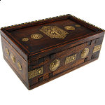 Wooden Puzzle Gift Box - Teak