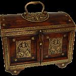 Half Round Jewelry Puzzle Box